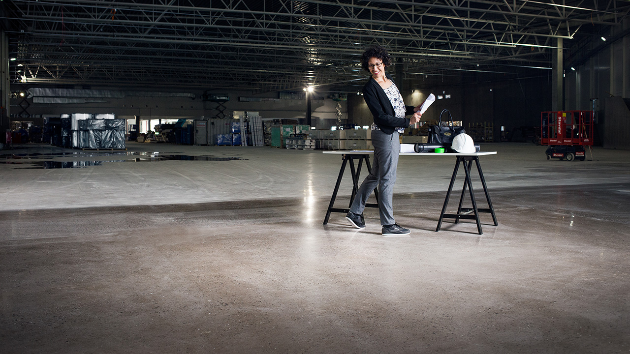 A Polished Concrete Floor Of Beauty Htc Superfloor