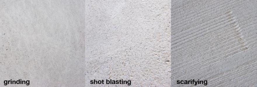 Shot Blasting Concrete Floor Old Method