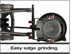 Edge grinding with HTC Greyline 270