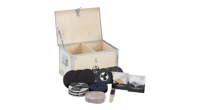 EZwood box - tools for wood grinding and sanding