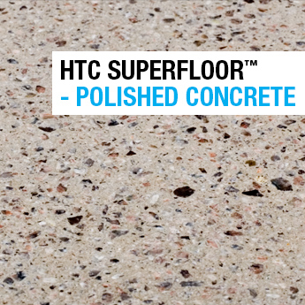 Superfloor polished Concrete