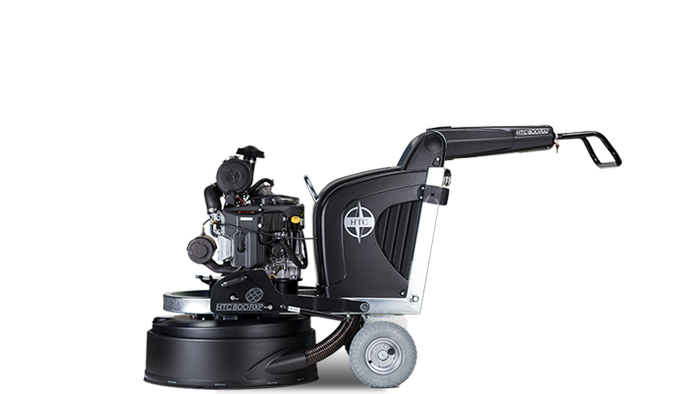 HTC 800 RXP - Propane driven floor grinder