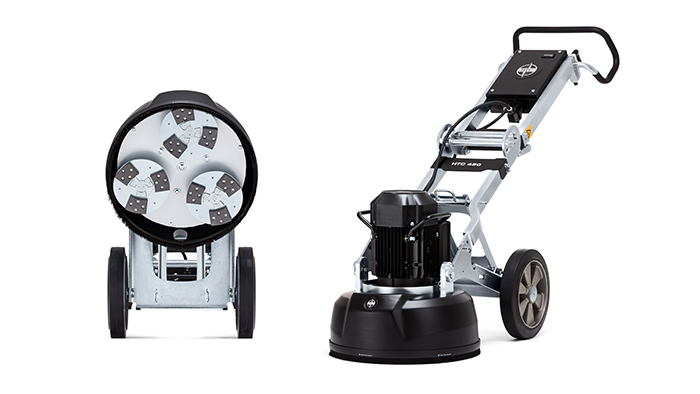 HTC 450 - a planetary grinder for floor prep