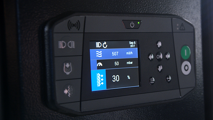 HTC D60 - Digital control panel