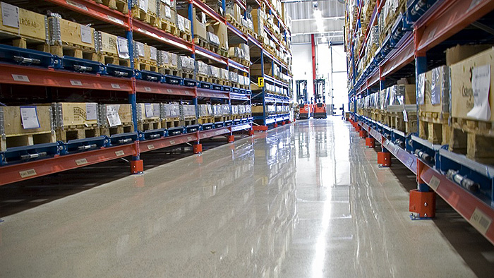 HTC Superfloor™ in a warehouse